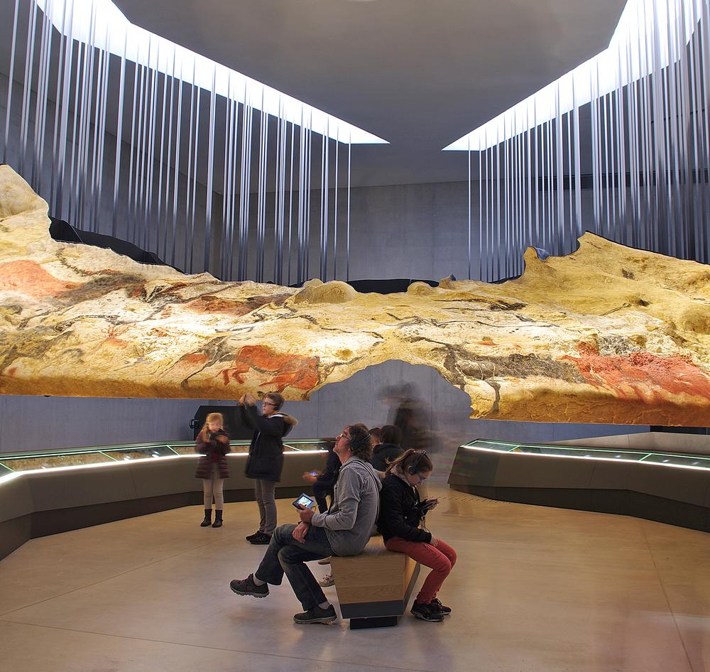 The centre's experiential galleries answer some questions about the cave art, and provoke others / Image: Eric Solé
