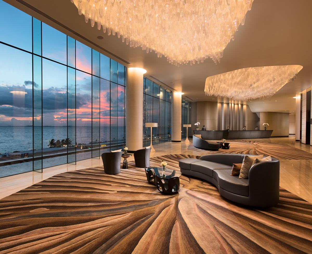 The Conrad Manila is designed by international design consultancy WOW architects, who are responsible for interiors as well