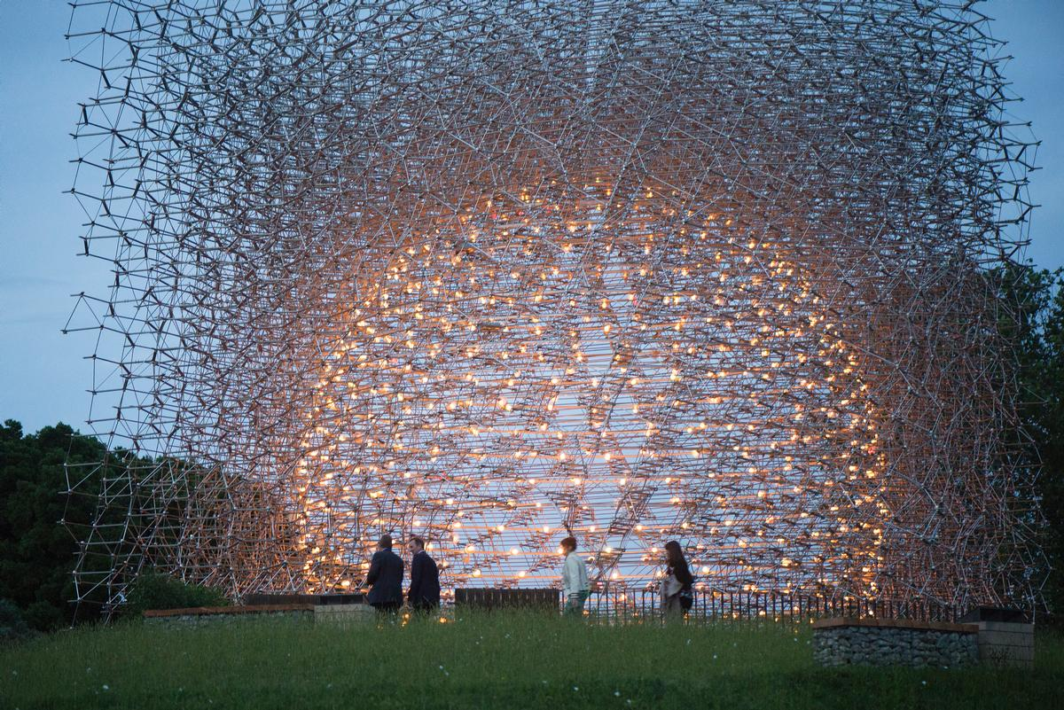 The Hive will open to the public this weekend in London's world famous Kew Gardens / Jeff Eden, RBG Kew