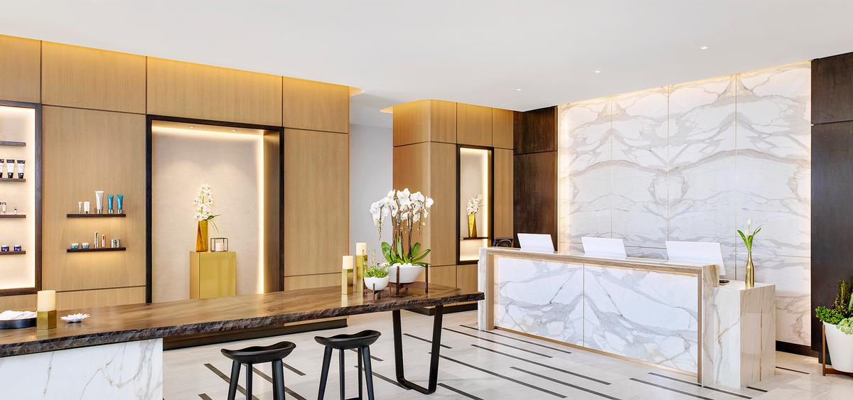 Well being spa with evidence based healthy living for Architectural design concepts las vegas