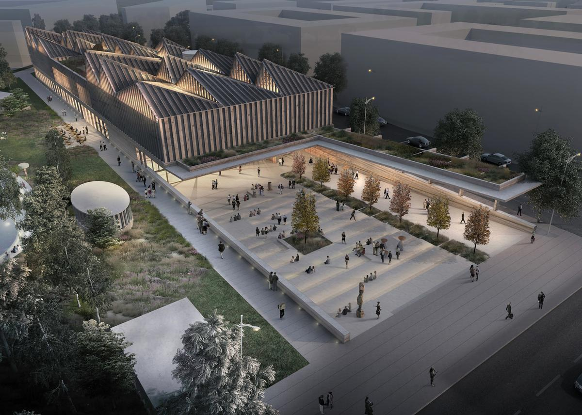 Week 39 s top news bill clinton tate modern and david for Museum designers