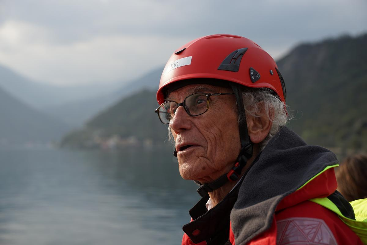 World renowned artist Christo first conceived the idea with artistic partner Jeanne-Claude in 1970 / Wolfgang Volz