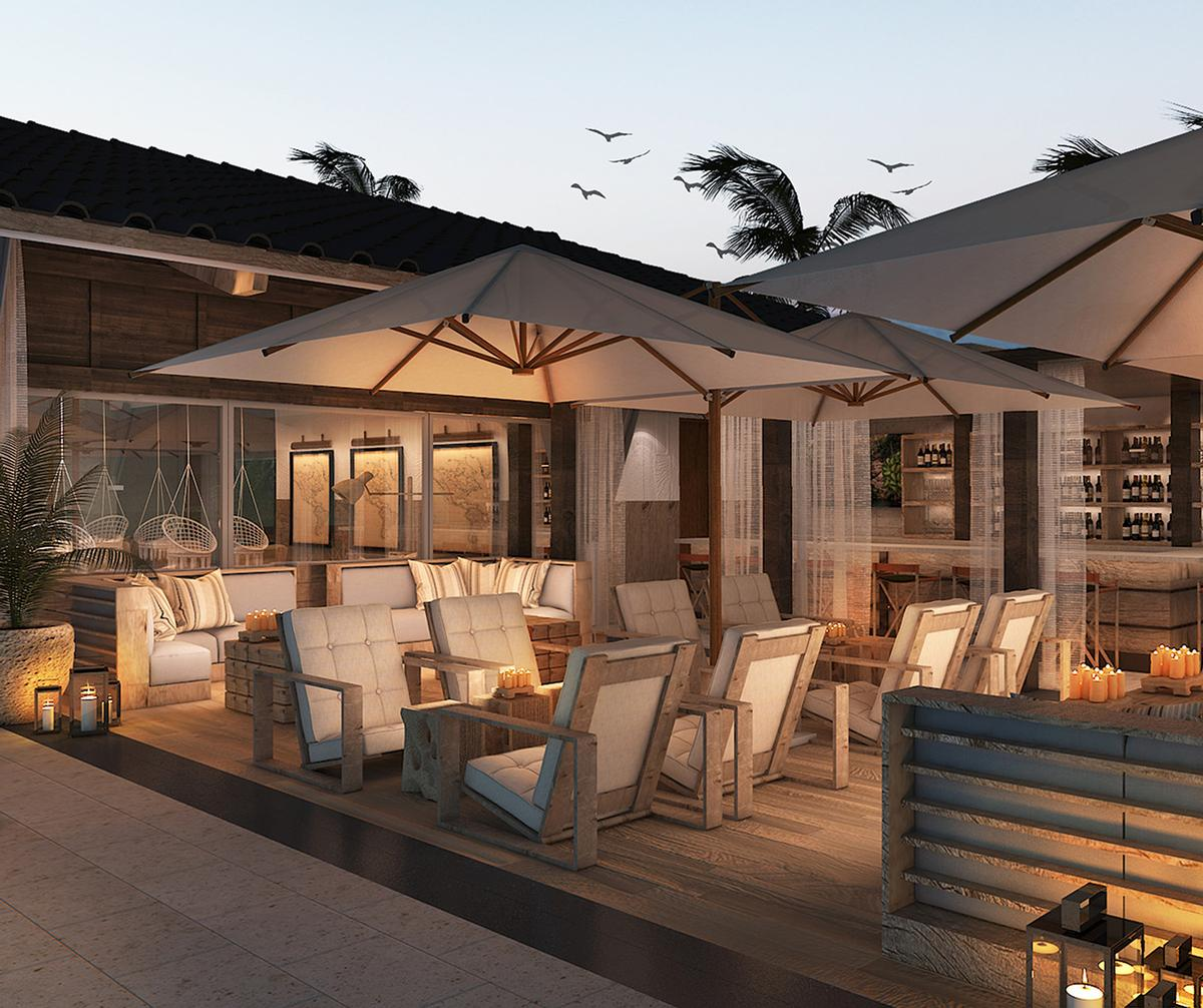 With exteriors designed by Mexican architecture firm Artigas and interiors conceptualised by New York-based AvroKo, the first location set to debut in Riviera Maya on Mexico's Yucatan Peninsula in 2017