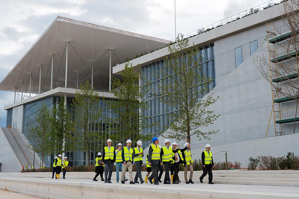 The complex will be operated by the Greek government / The Stavros Niarchos Foundation Cultural Center