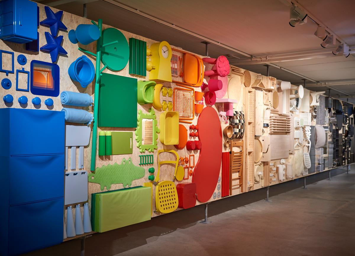 The museum's exhibitions explore IKEA's products and design history / Inter IKEA Systems B.V. 2016.