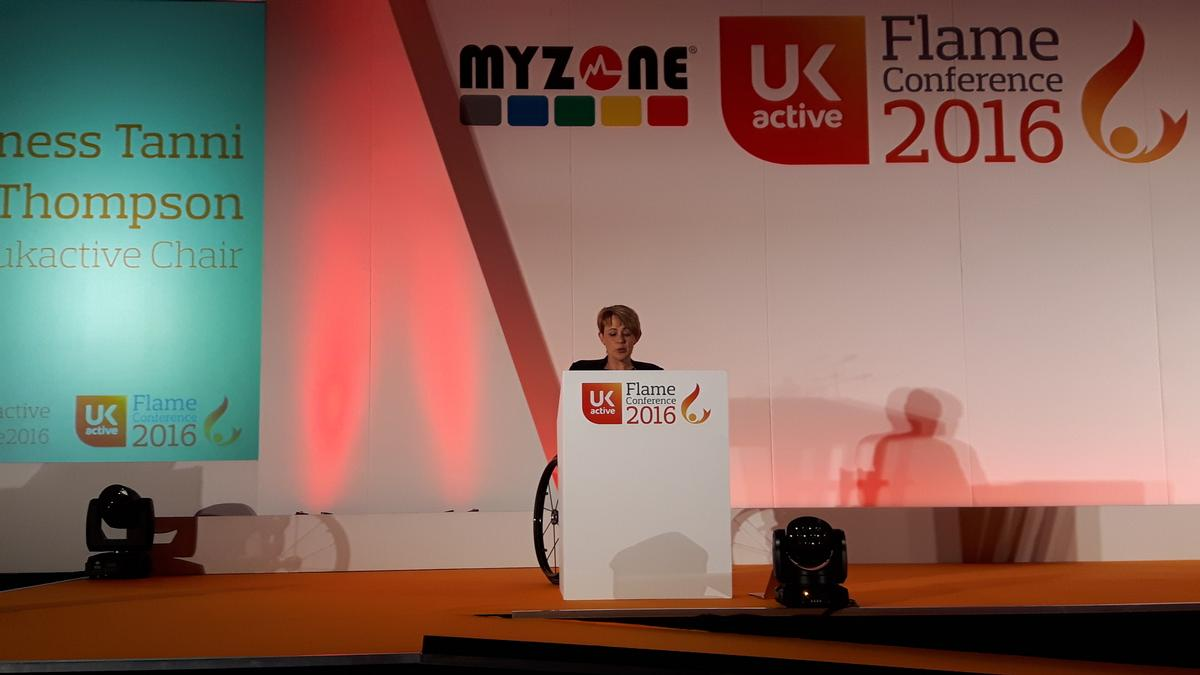 Tanni Grey-Thompson said the physical activity sector has never been more relevant in politics