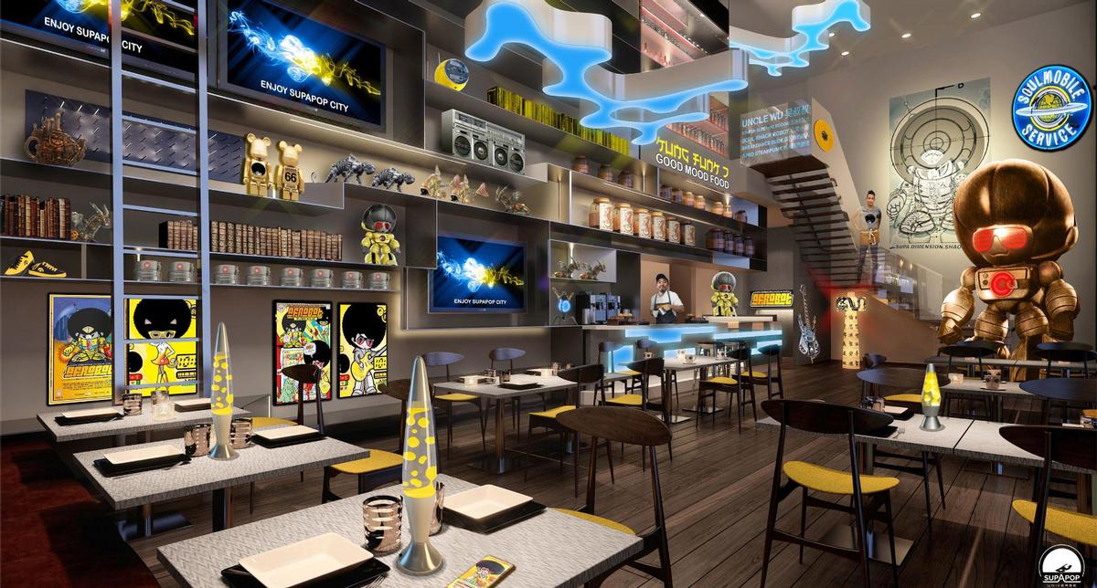 Danconia and Chebaane will create, produce, develop and license characters and art into experiential concepts, hospitality spaces and retail products / SupaPop Space