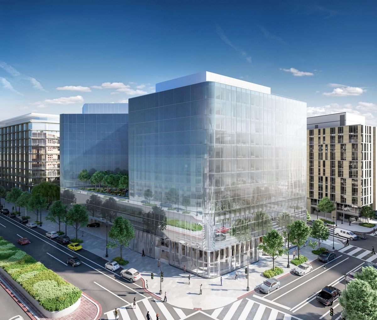 Construction begins on herzog de meuron 39 s conrad hotel for Design hotel washington dc