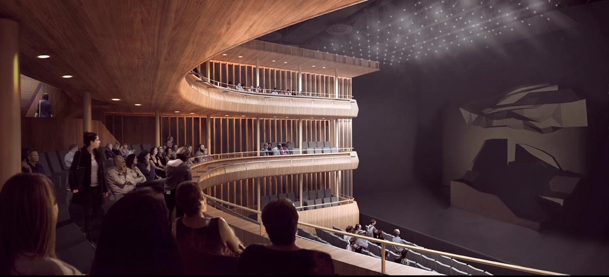 Linbury Theatre / Stanton Williams