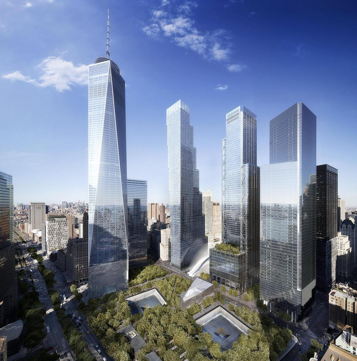 The arts complex will feature within the wider World Trade Center complex / DBOX