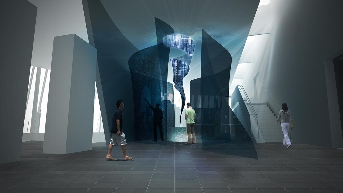 The exhibition will provide the museum with a new iconic element