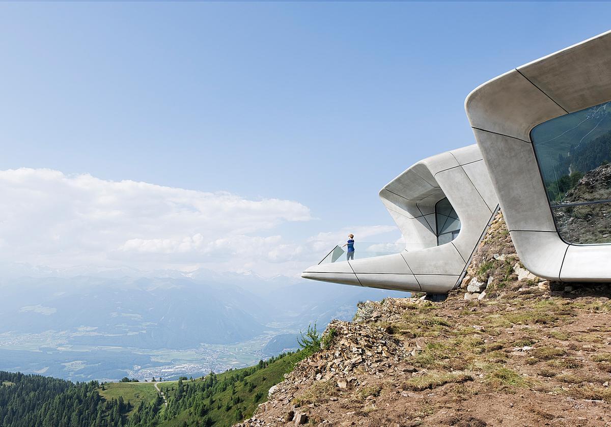 Zaha Hadid's Messner Mountain Museum Corones in Italy / Zaha Hadid Architects