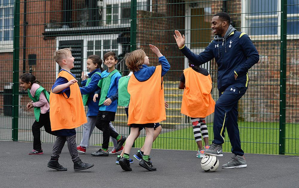 Tottenham players like Danny Rose are encouraged to take part in community work