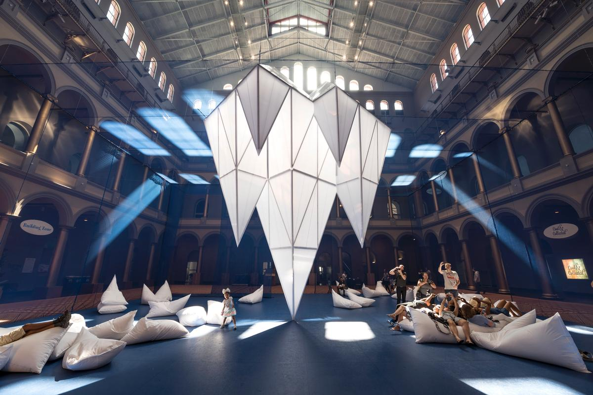 ICEBERGS will be on display until 5 September 206 as part of the museum's Summer Block Series / Timothy Schenck