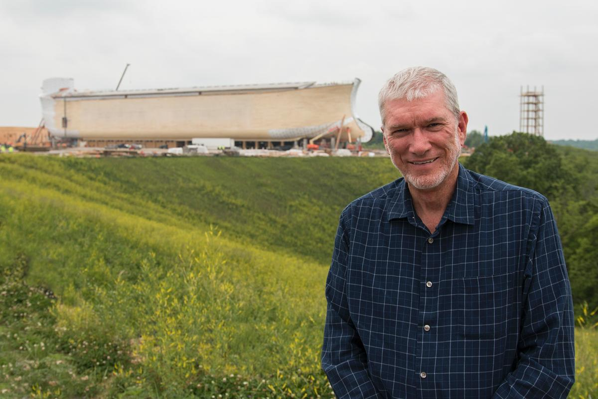 Answers in Genesis founder Ken Ham has driven the development / The Ark Encounter