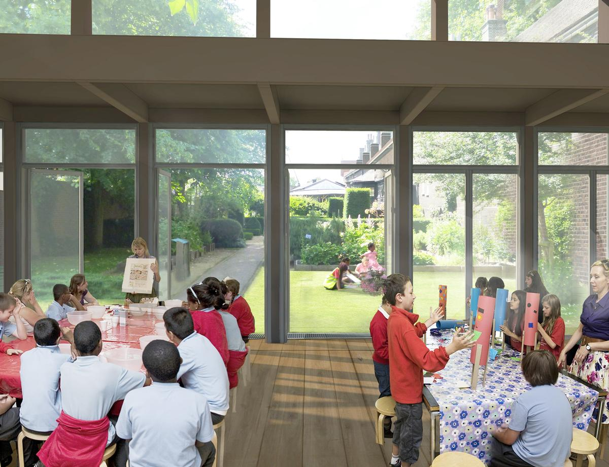 New educational spaces will be created / Wright & Wright Architects