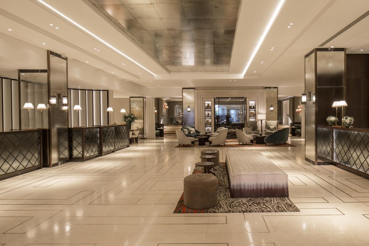 Inge Moore's team wanted to create a new feeling of modern elegance / Grosvenor House Hotel