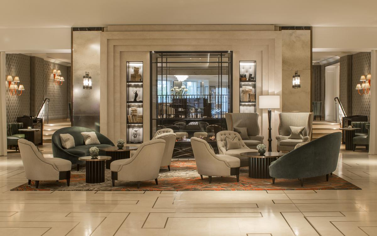 The public spaces are a leisure destination in their own right / Grosvenor House Hotel