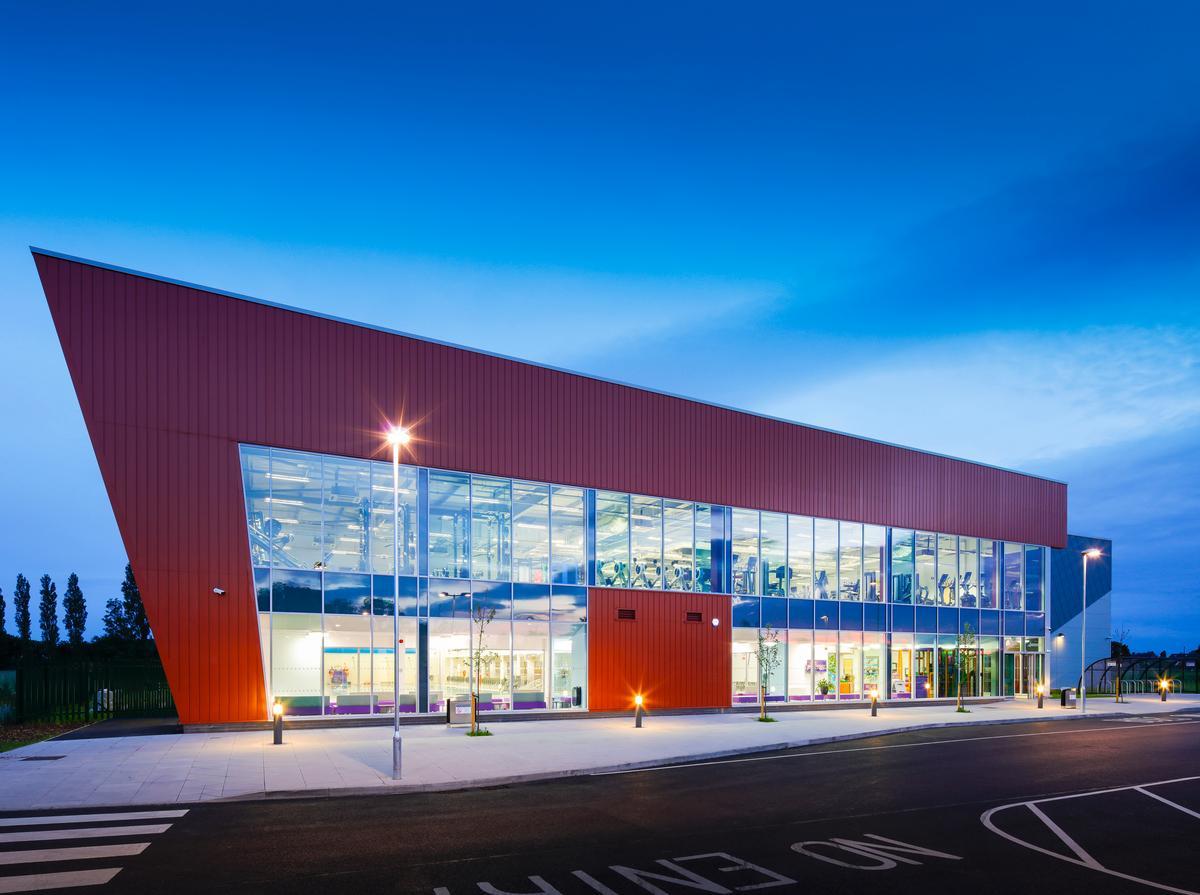 Architects Watson Batty designed the new centre in Bowbridge Road, Balderton on the outskirts of Newark / Watson Batty