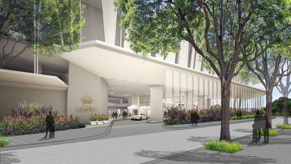 The resort will include Sydney's first Crown Hotel / Crown Resorts