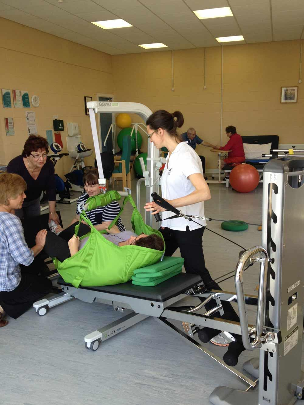 The Merlin MS centre uses GRAVITY training with its patients