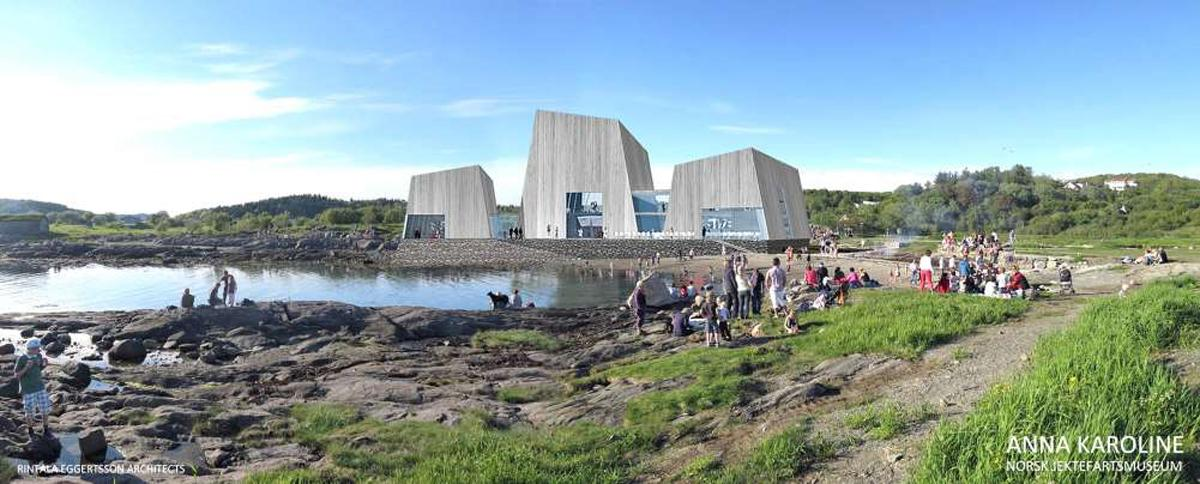 Spread over four buildings, Oslo-based Rintala Eggertsson Arkitekter have created the overall concept