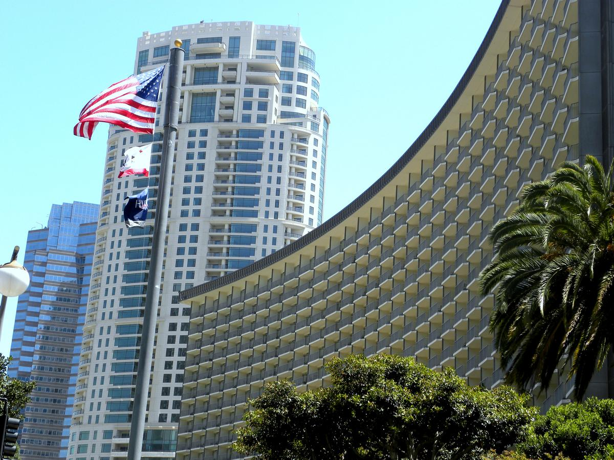 The hotel has hosted several US presidents / Chris Bucka