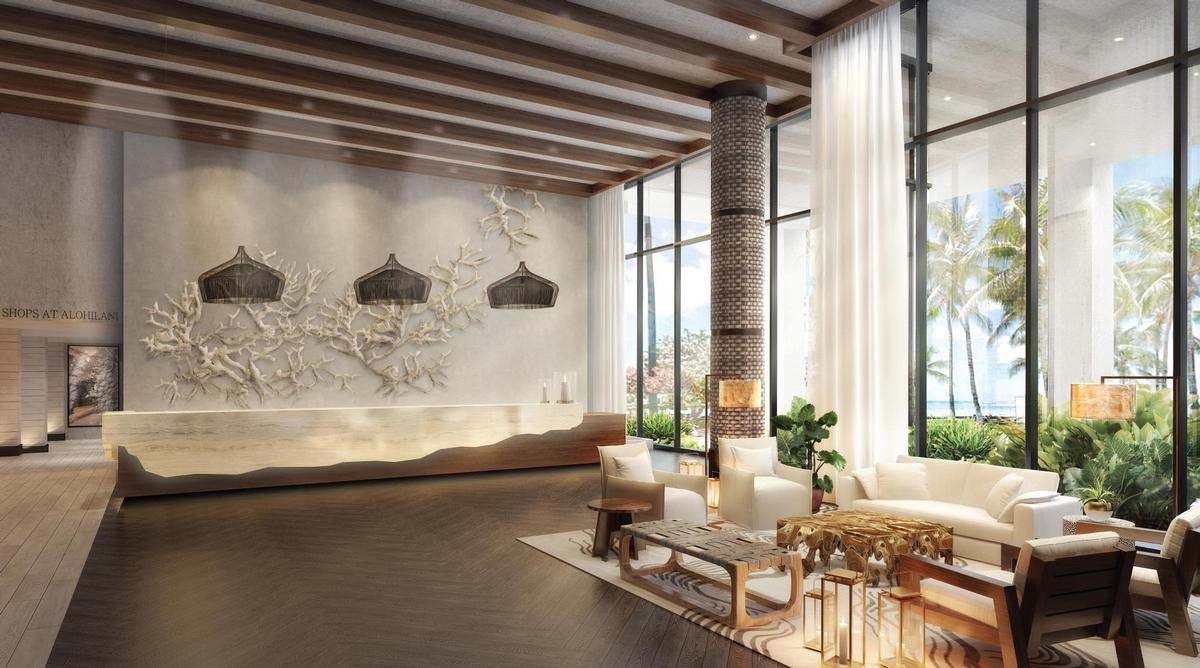 Rockwell Group's design concepts are inspired by Honolulu's culture and the island's tropical landscape / Rockwell Group