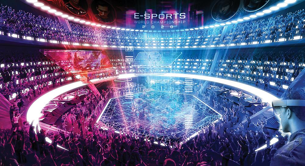 Populous predicts high-tech eSports arenas are just a few years away from being realised