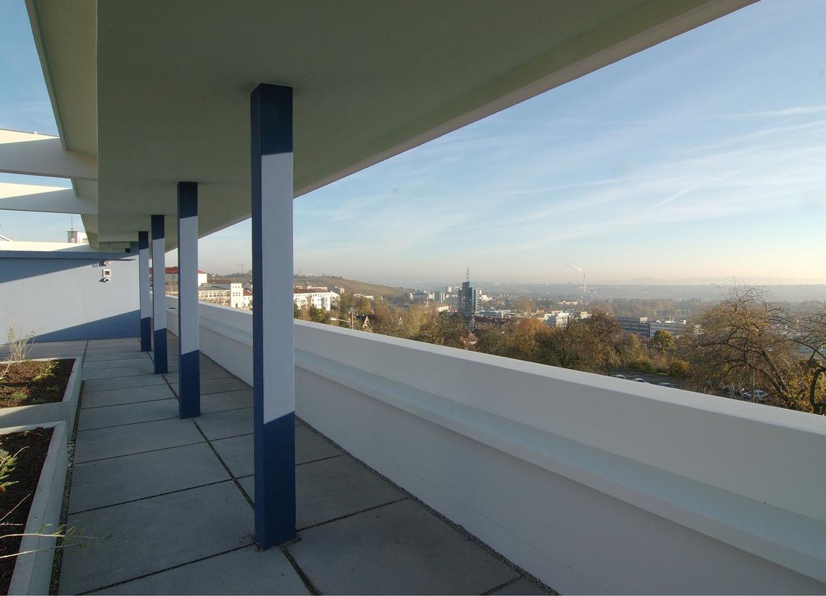 Rooftop twin house, Weissenhof / Wüstenrot Stiftung