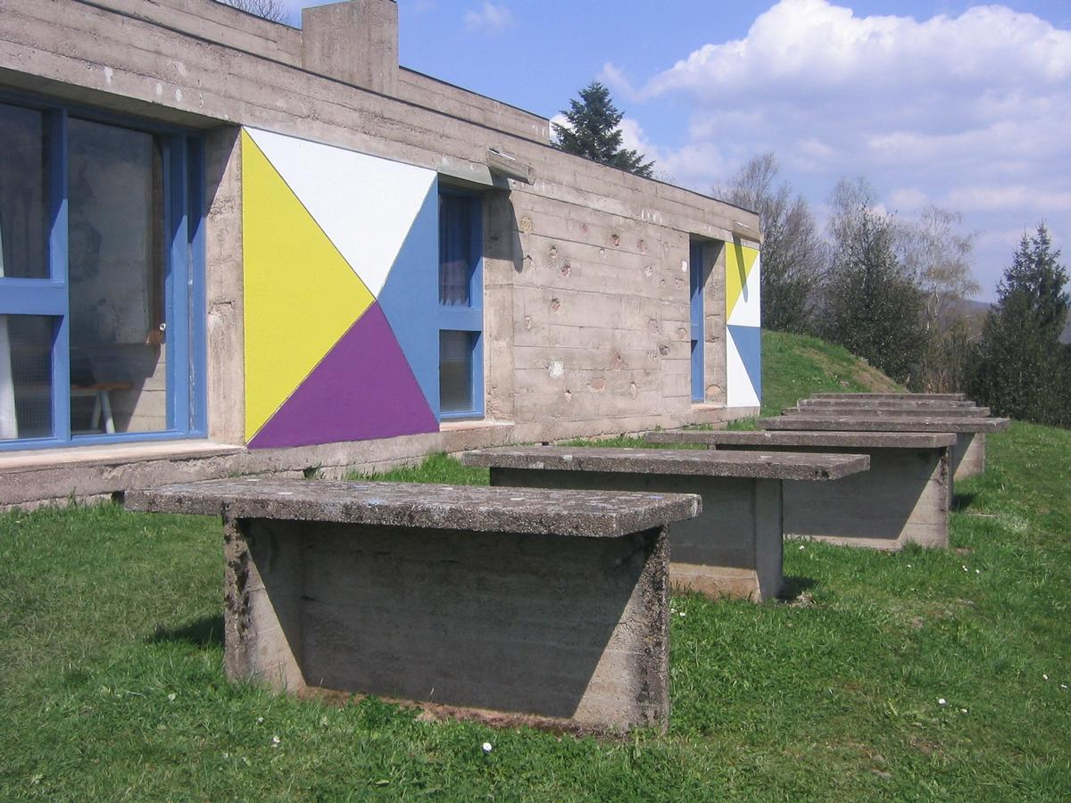 Pilgrims' house Ronchamp / FLC/ADAGP