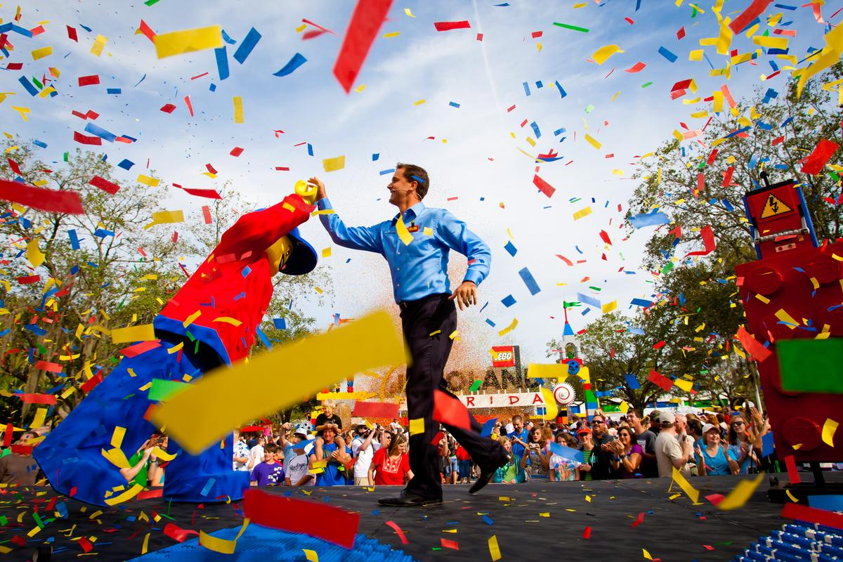 In addition to gaining a globally-recognised degree, students will gain a hands-on appreciation of the industry / Legoland Florida