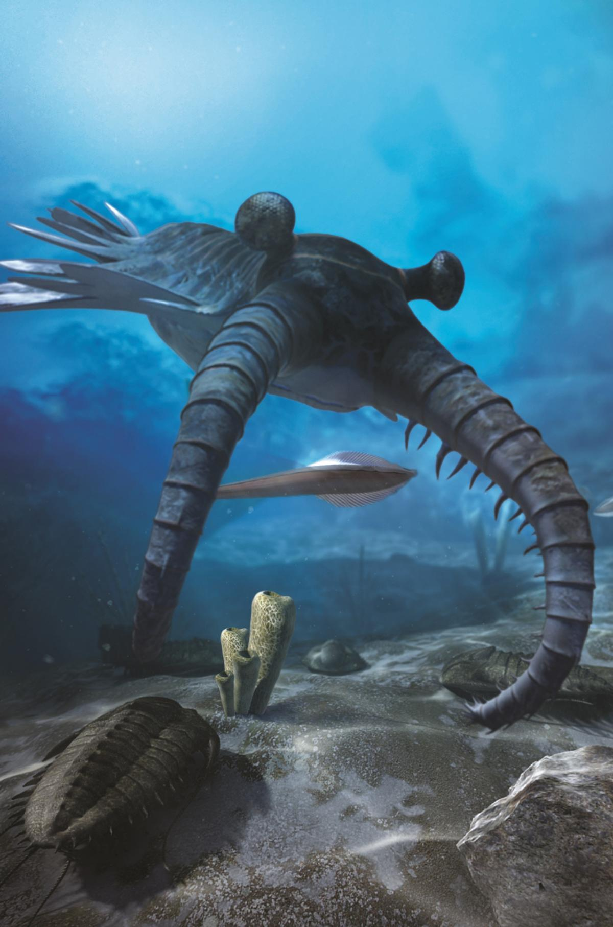 David Attenborough's First Life brings to life the dawn of living creatures on Earth from 540 million years ago