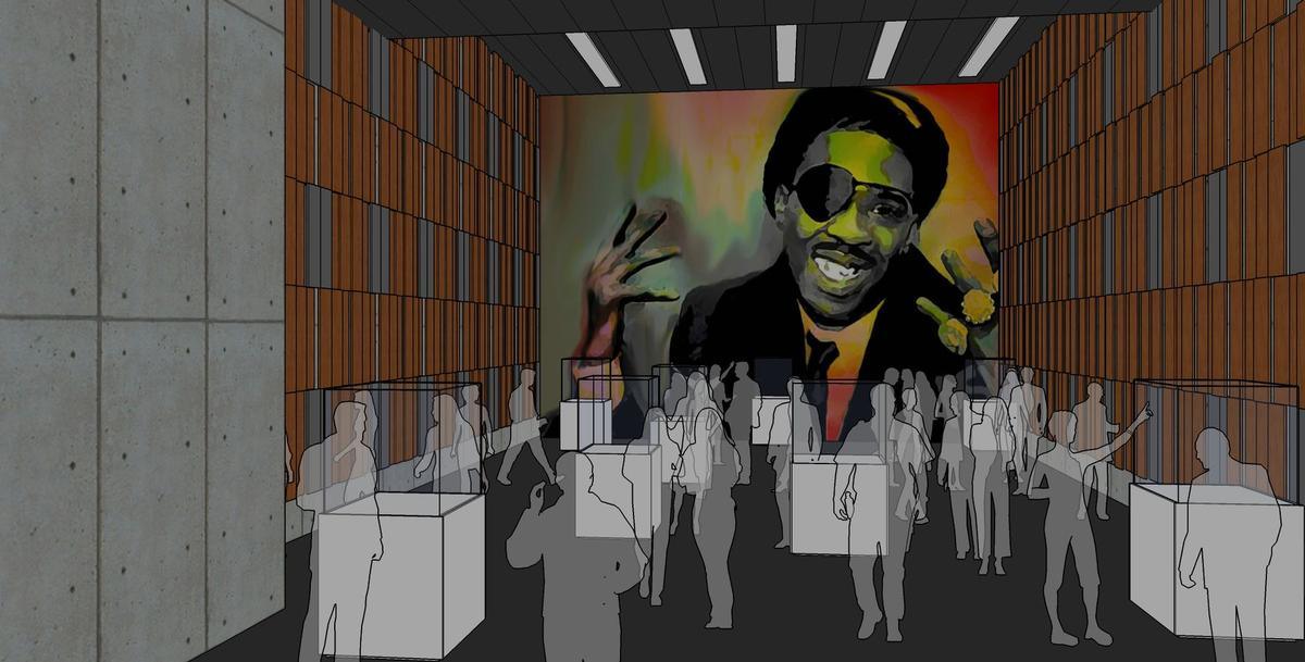 The museum would celebrate the history and future of hip hop / Image via Curbed