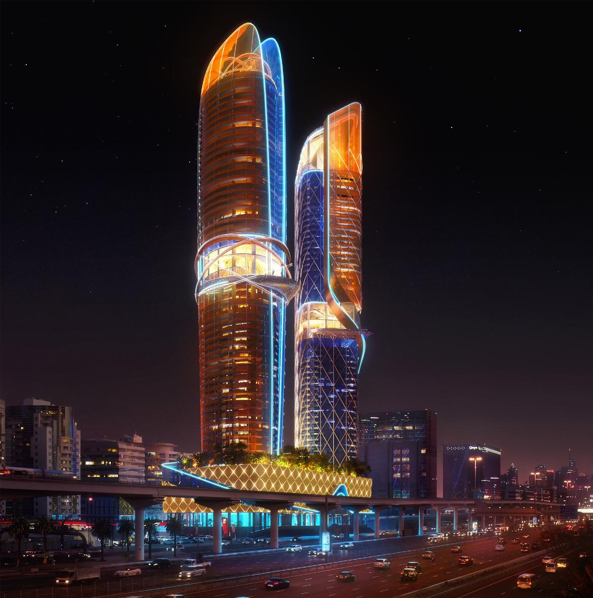 The Rosemont Hotel and Residences will be operated by Hilton / ZAS Architects