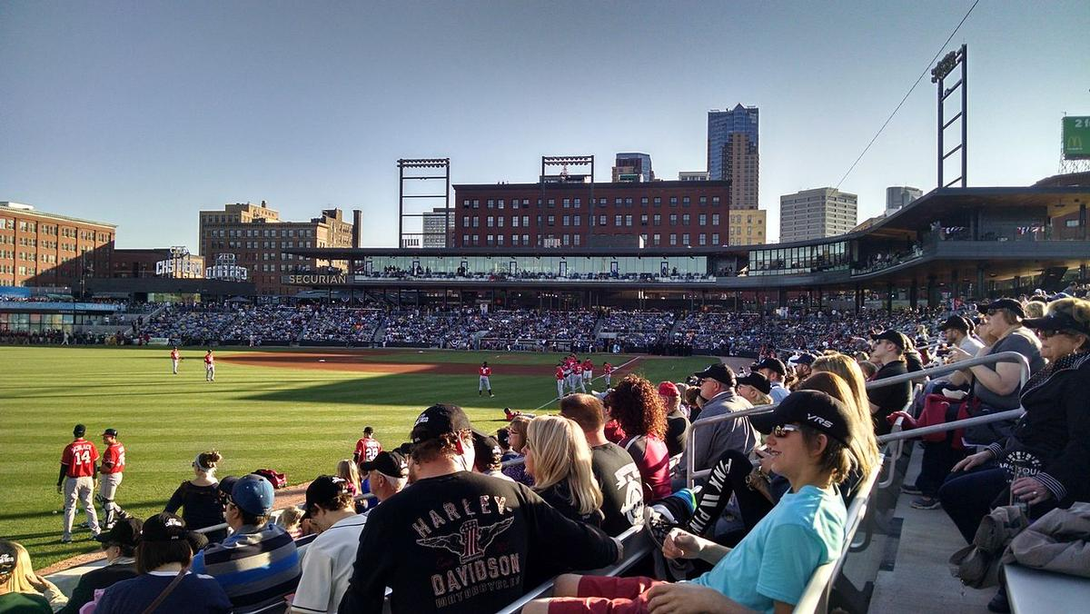 CHS Field in St. Paul, Minnesota by Snow Kreilich Architects and AECOM / Wikipedia
