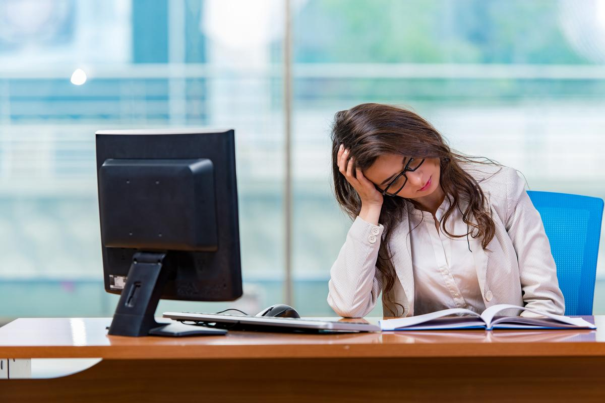 Sitting for at least eight hours a day can increase the risk of premature death by up to 60 per cent / Shutterstock