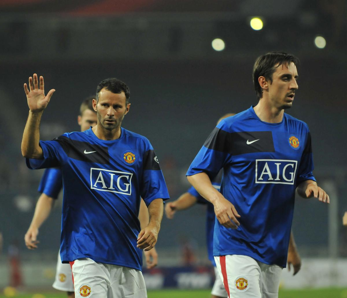 Ryan Giggs and Gary Neville have moved into the world of development following their retirement from playing football / Ahmad Faizal Yahya