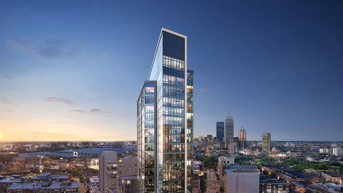 The building, called Pierce Boston, will feature 360 degree views of the city / Arquitectonica