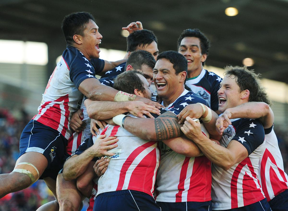 The US made its first appearance at the Rugby League World Cup in 2013, progressing to the quarter-final stage / Anna Gowthorpe/PA Archive/Press Association Images