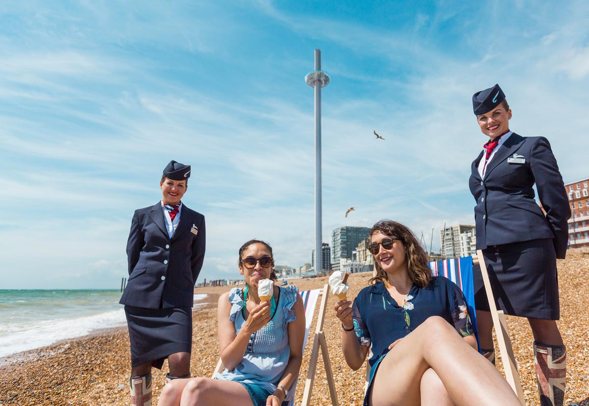 The i360 comes to Brighton's seafront after 11 years of development / British Airways i360