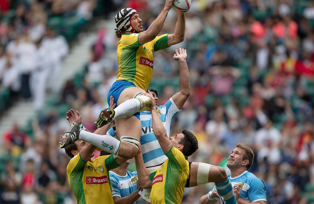 Brazil is looking to match the rugby success enjoyed by its neighbour Argentina / image ©: JÃŒrgen KeÃler / dpa images