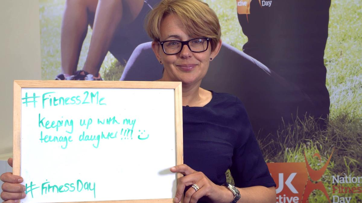 Baroness Tanni Grey-Thompson writes down what fitness means to her
