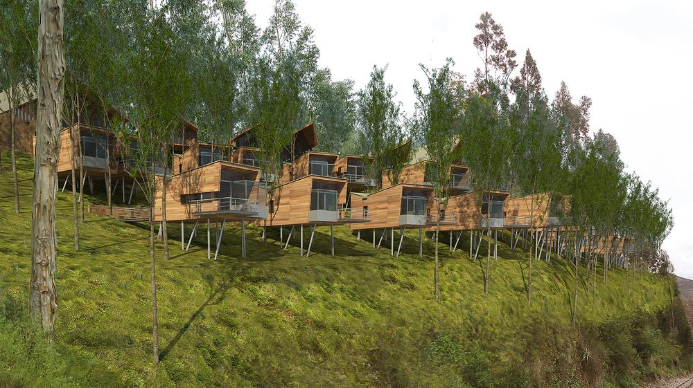 Work is due to start on the Hotel Valle Sagrado in Cuzco, Peru