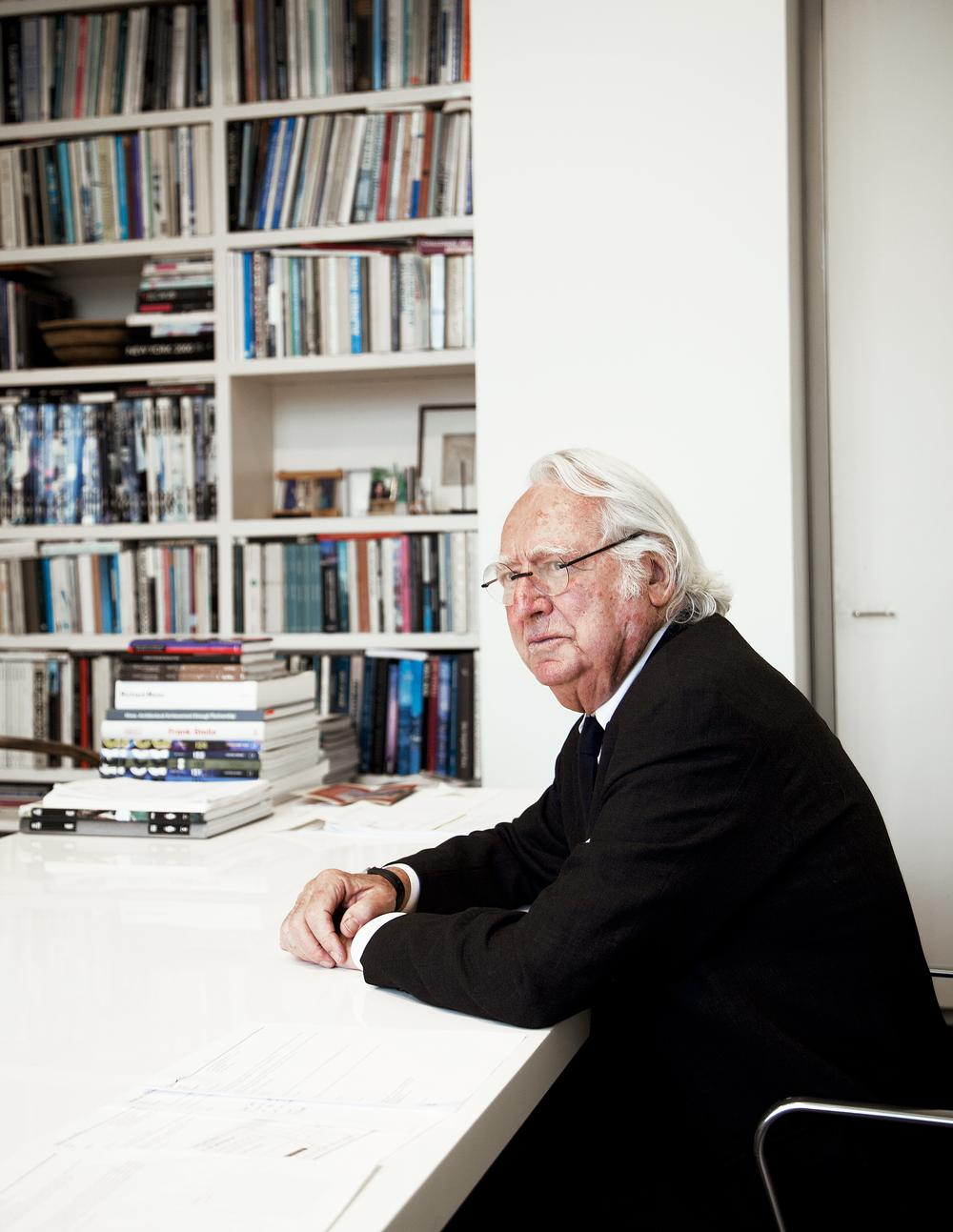 Richard Meier received his architectural training at Cornell University and set up his practice in 1963 / Photo: © Silja Magg