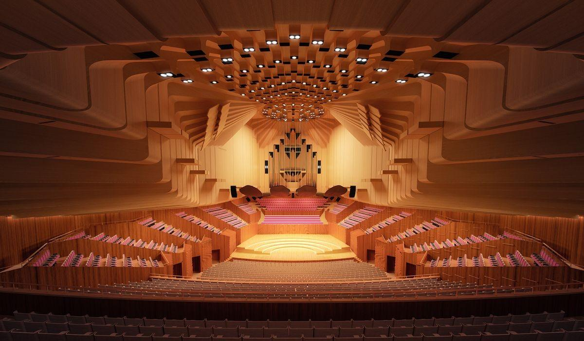 Arm Architecture are overhauling the Concert Hall's acoustics, accessibility, stage and backstage areas  / Sydney Opera House