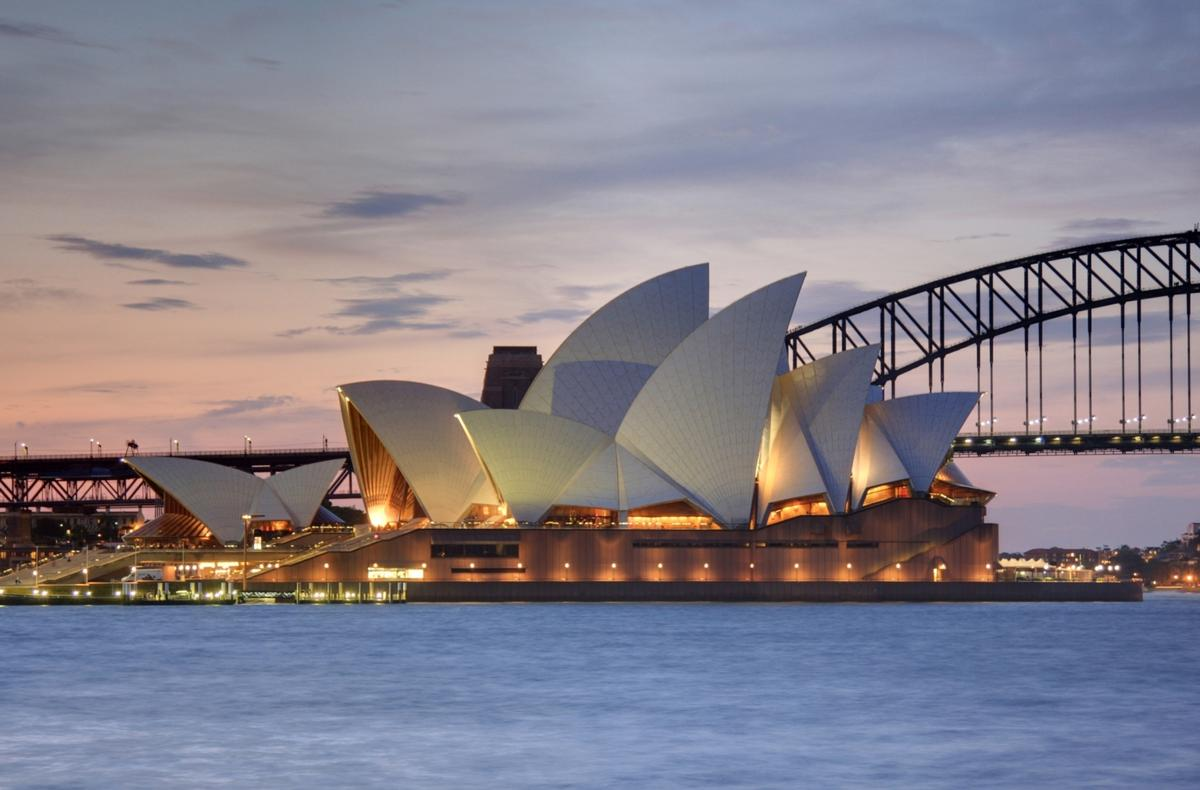 The Sydney Opera House opened in 1973 / Adam J.W.C