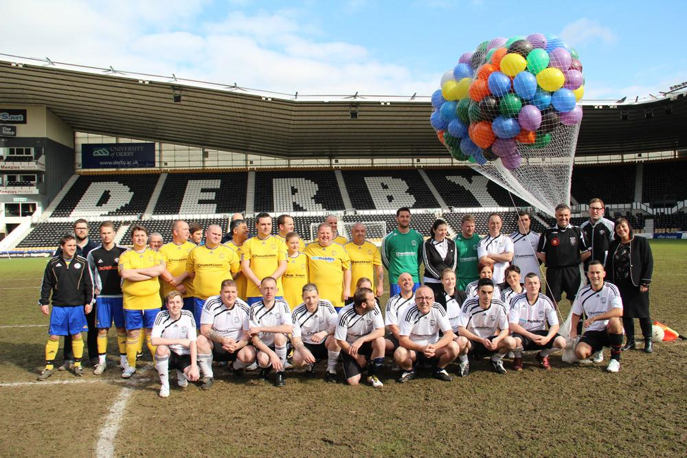 Derby County's community programme currently engages over 20,000 local people