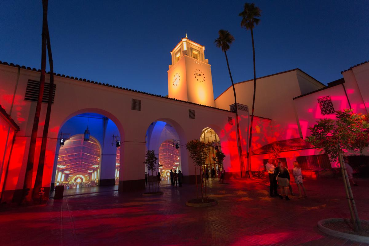 The two-week installation was the first in a series of summer events for Union Station / David Green