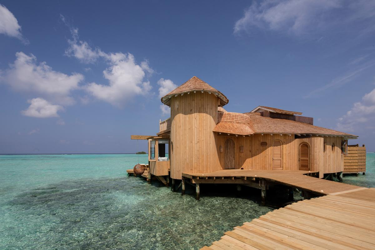 Sustainable materials have been used to create the luxury resort / Richard Waite